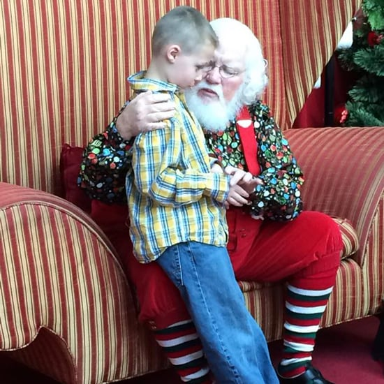 Santa's Reaction to Child With Autism