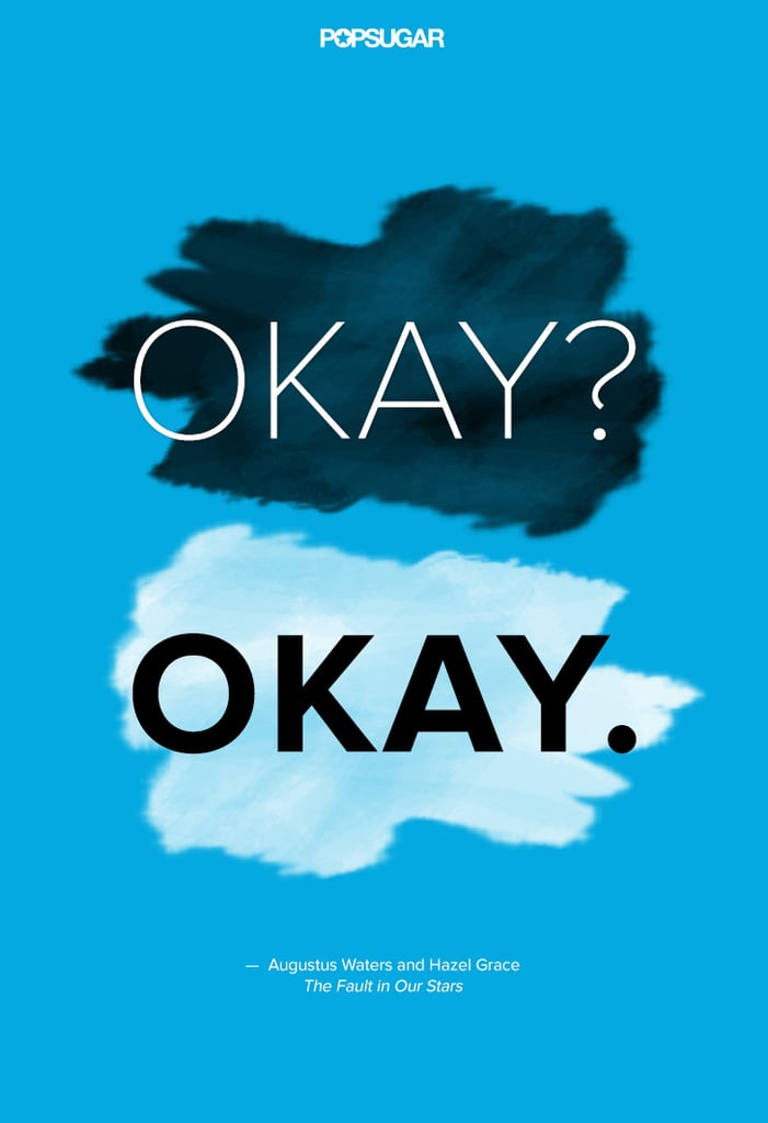 Quotes From The Fault in Our Stars  POPSUGAR Celebrity Australia