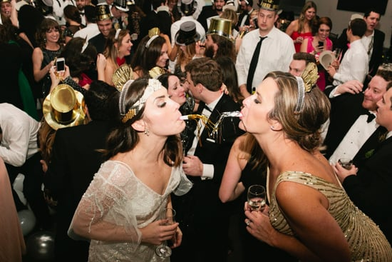 A Vintage Glam New Year's Eve Wedding in Atlanta