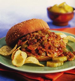 Easy Vegetarian Sloppy Joe Recipe