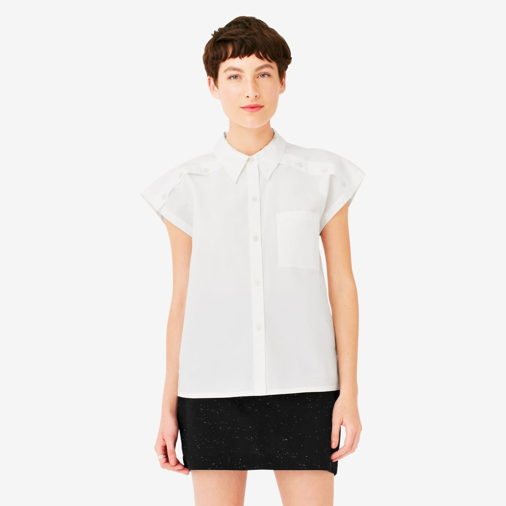 Kate Spade Saturday Short-Sleeved Button-Down Shirt