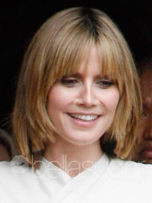 Pictures of Heidi Klum's New Bobbed Haircut 2010-04-21 10:00:00