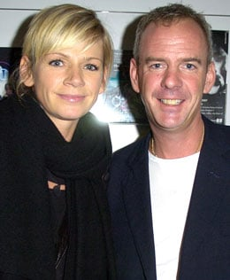 Photo Of Pregnant Zoe Ball and Norman Cook Who Are Expecting Their Second Child