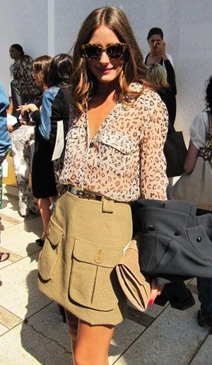Olivia Palermo at New York Fashion Week 2011