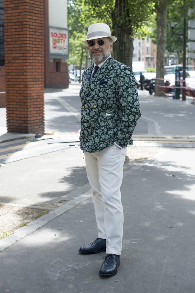 Dapper gents aren't afraid of a bold sport coat. We love this gentleman's unique option.