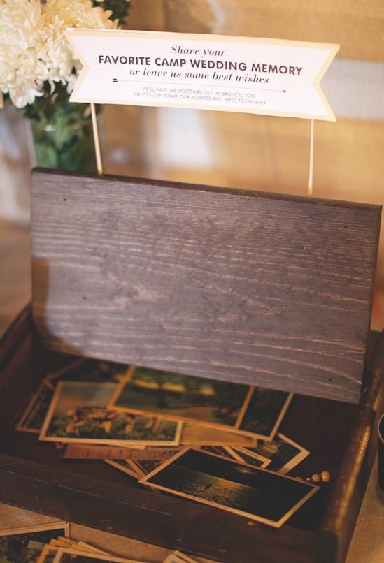 Postcard Guest Book