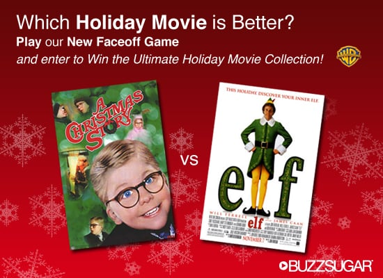 Play Our Brand New Holiday Movie Faceoff and Win a Prize!
