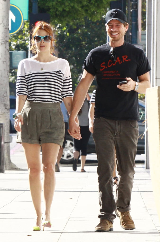 Drew Barrymore Shows Her Boyfriend, Will, the Shopping Ropes