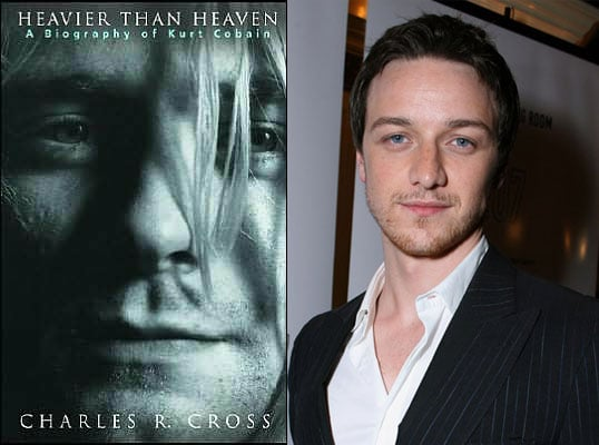 James McAvoy to Play Kurt Cobain?
