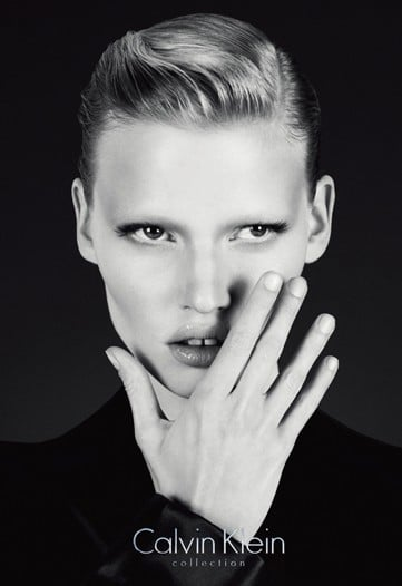 Lara Stone Scores Calvin Klein Exclusive for Runway Plus Three Fall 2010 Campaigns