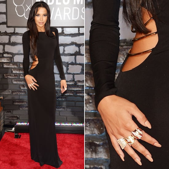 Naya Rivera Dress at VMAs 2013 | Pictures