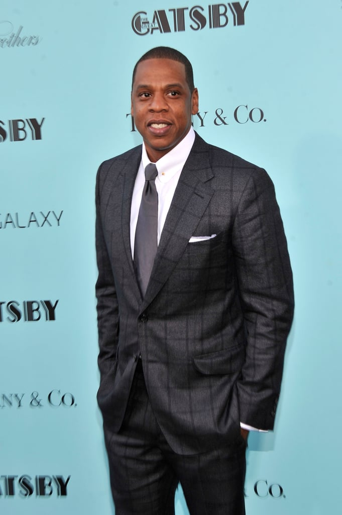 Jay-Z was on hand to celebrate The Great Gatsby.