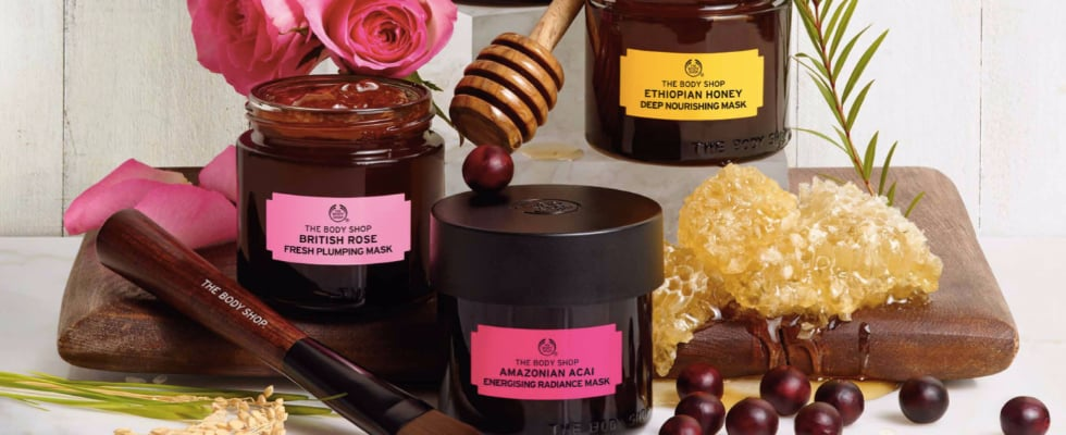 """The Body Shop Just Launched a Multimasking Skincare """"Wardrobe"""""""