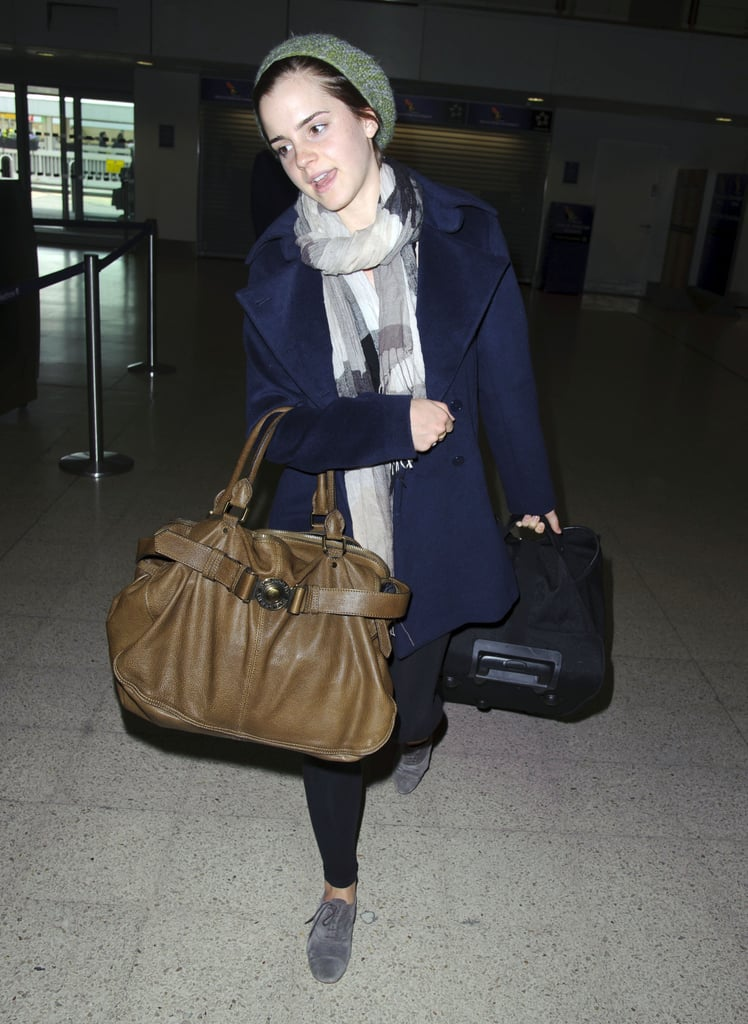 Emma Watson Travels While Transferring From Brown