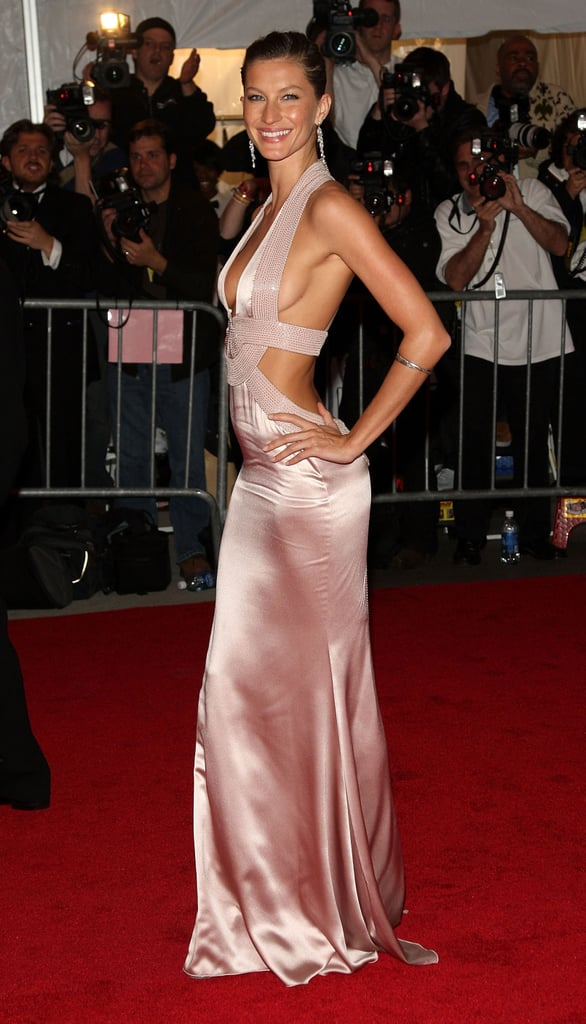 And in Versace at the 2008 Met Gala.