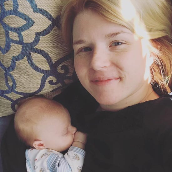 "Mom's Postpartum Body-Image ""Expecting"" Post"