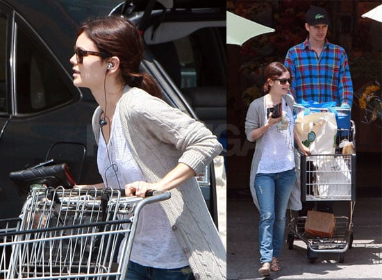 Photos of Rachel Bilson had Hayden Christensen At a Grocery Store in LA