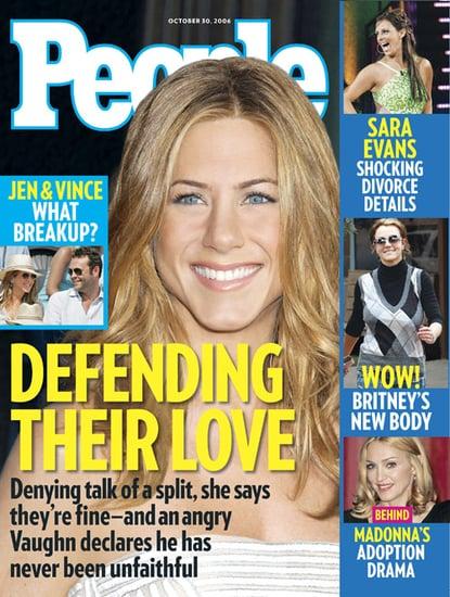 Jennifer Aniston Turning back the clock