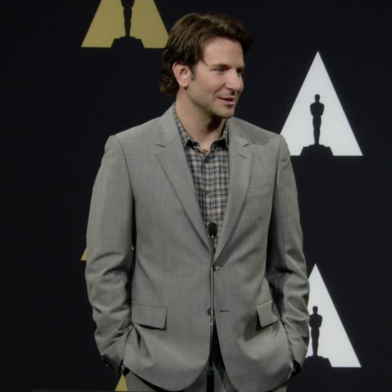 Bradley Cooper at the Oscar Nominees Luncheon 2015 | Video