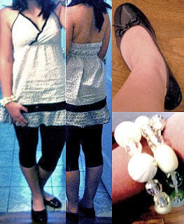 Look Of The Day: Black and White Mashup