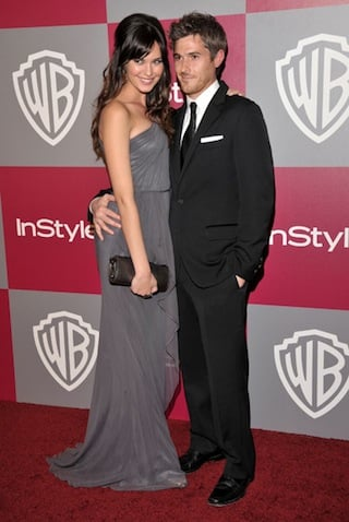 Odette Yustman at the 2011 Golden Globe Awards Afterparty
