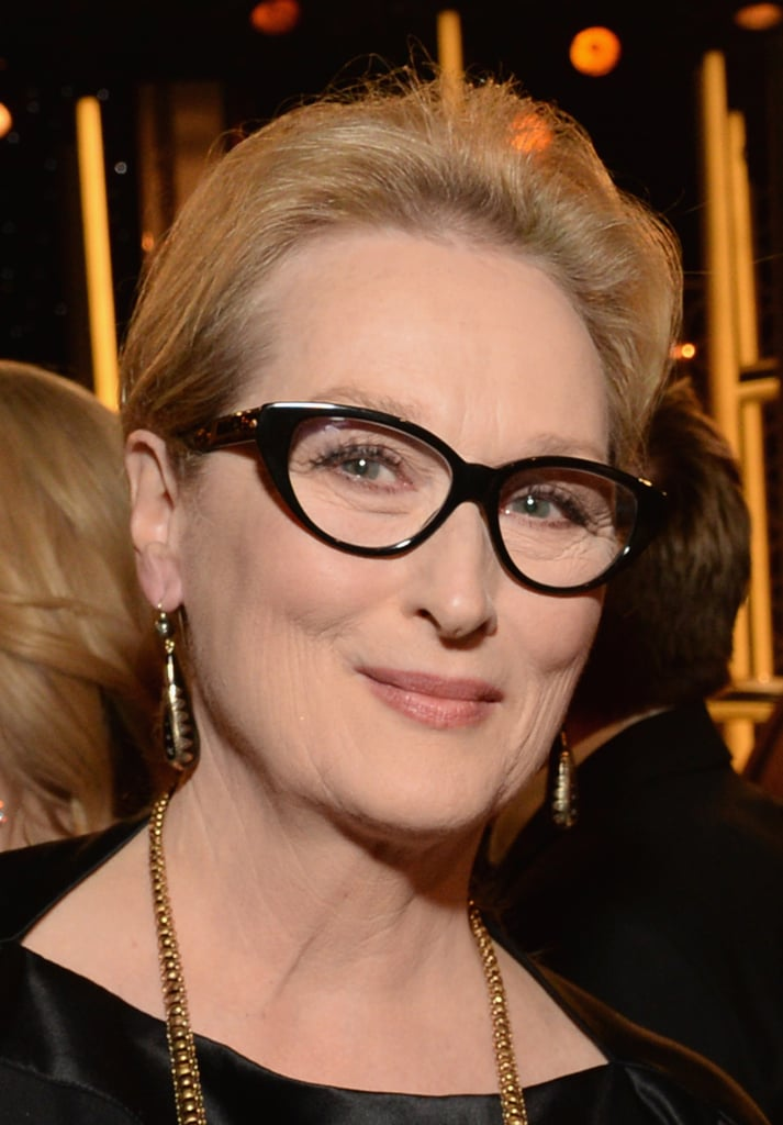 Meryl Streep's party style was one part brains, two parts beauty.