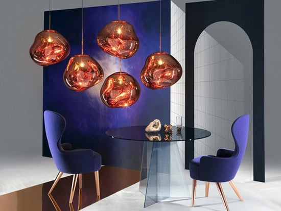 Tom Dixon's New Melt Pendants Are Totally Surreal