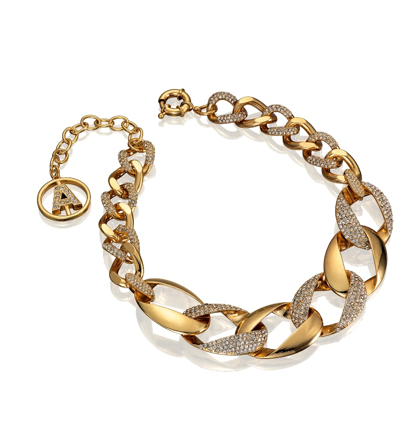 Editors' Pick: It's simple, it's sleek, and it would look super cute piled up with an arsenal of your other favorite bracelets. Since it's already a mixed-metal version, you have nothing to worry about on the clashing front.