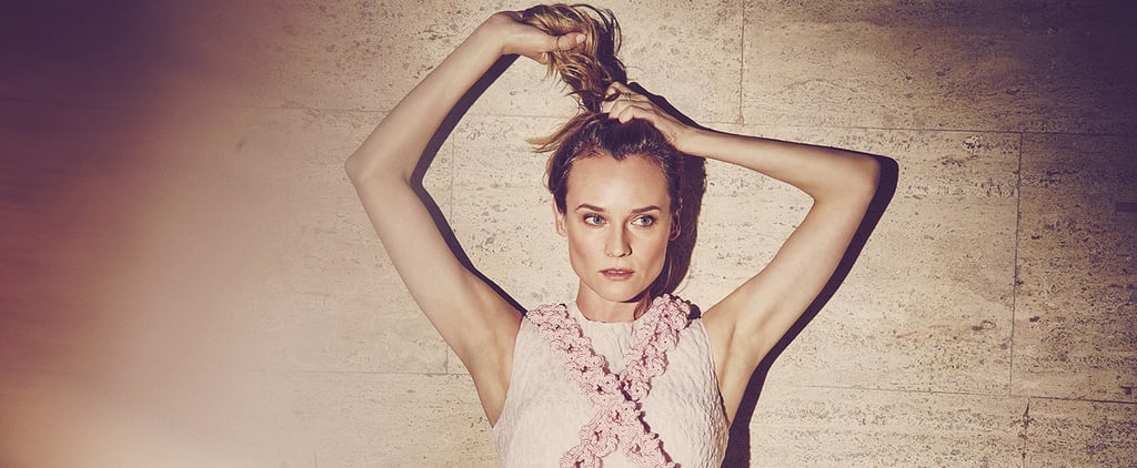You'll Want to Snatch Diane Kruger's Pretty Dresses Right Out of This Shoot — and You Can
