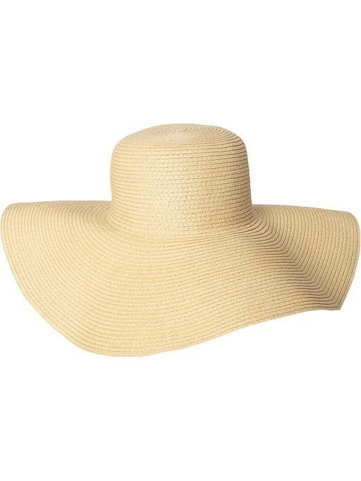 Old Navy Floppy Straw Sun Hat