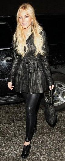 Lindsay Lohan Lays Low in LA