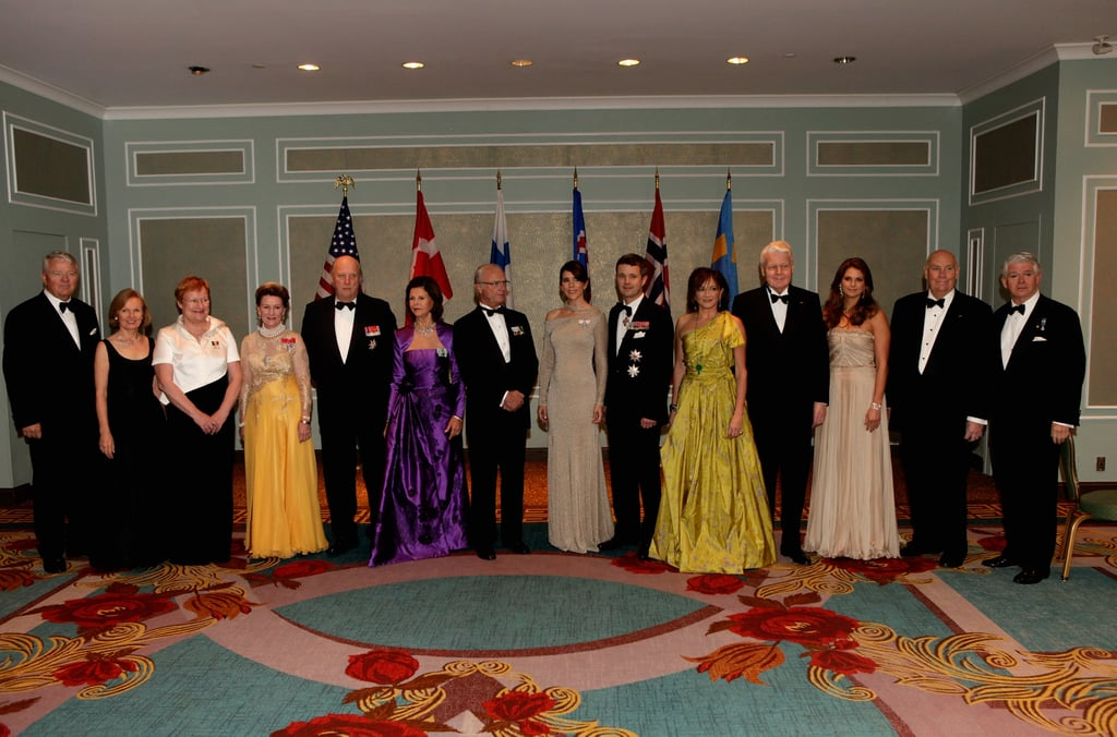 Princess Mary and Prince Frederik attend the American-Scandinavian Foundation's Centennial Ball on Oct. 21.