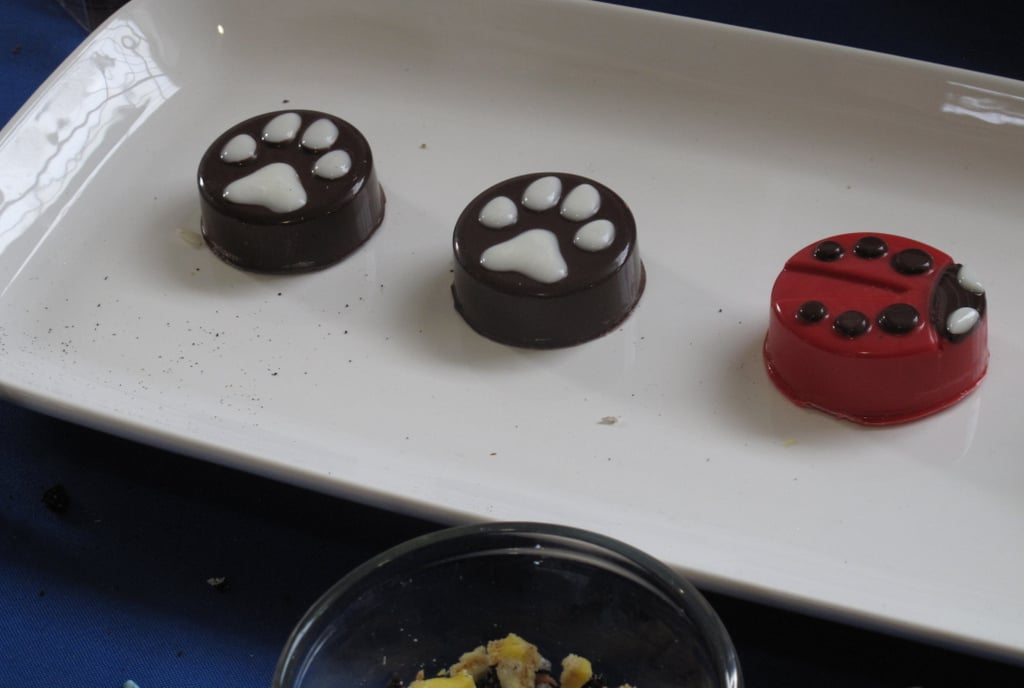I didn't enjoy the flavor of these chocolate-covered Oreos, but I couldn't get over how cute they looked!