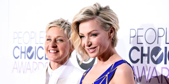 Ellen DeGeneres And Portia De Rossi Steal The Show At The People's Choice Awards