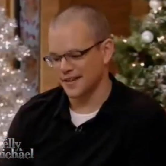 Matt Damon on Live With Kelly Christmas Eve Clip
