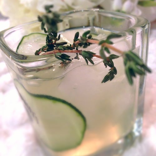 Thyme-After-Thyme Gin Cocktail