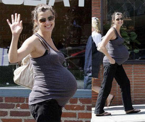 Bridget's Bigger & Bigger Baby Bump