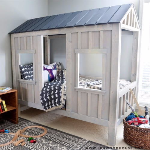 DIY Kids' Bed