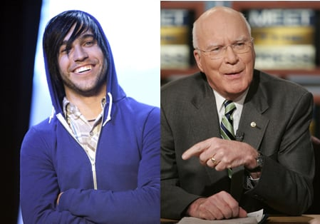 Obama's Star Power: Senator Leahy and Fall Out Boy?