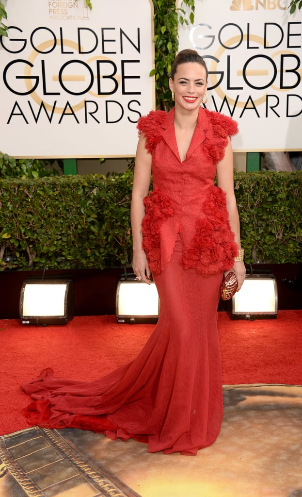 Bérénice Bejo looked stunning in red.