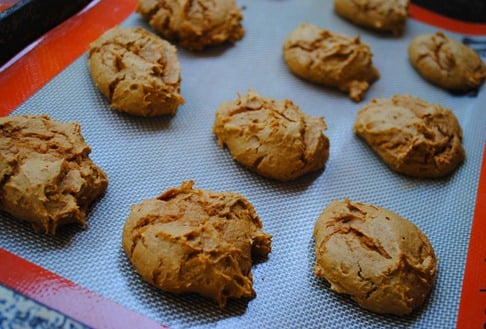 Two-Ingredient Pumpkin Spice Cookies