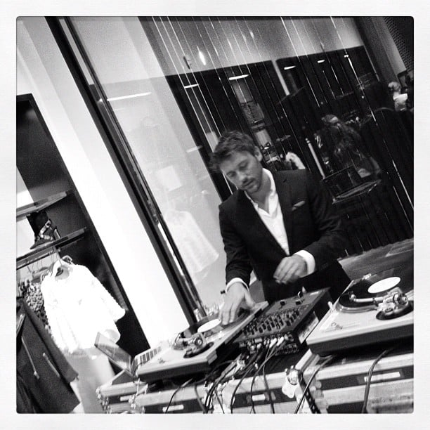 Zara's deejay spun the best tunes while customers shopped to their hearts' desire.