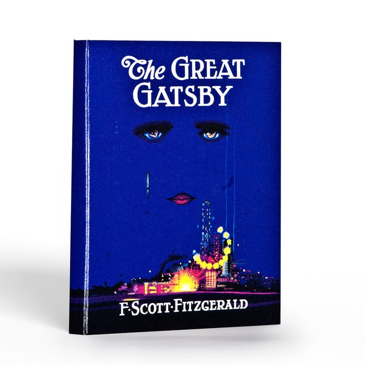 Let your iPad be a part of the Gatsby hoopla with this iPad case ($50) that's designed after the novel's first edition.
