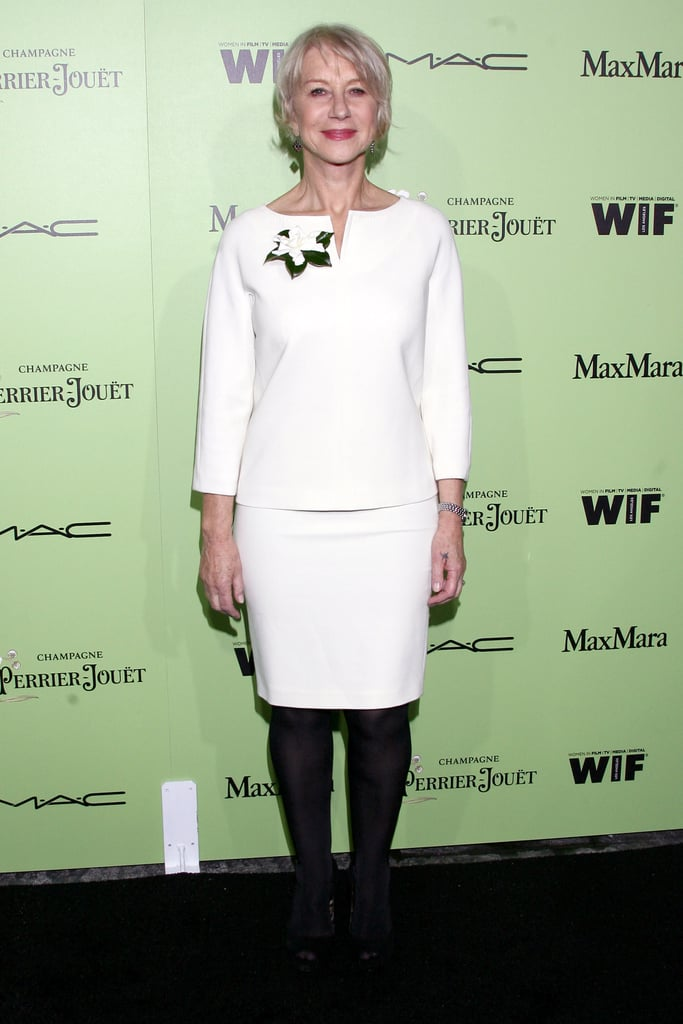 Helen Mirren at the Women in Film Pre-Oscar Cocktail Party