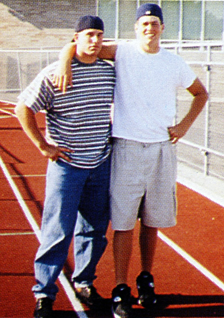 Tom Brady stayed fit on the field.