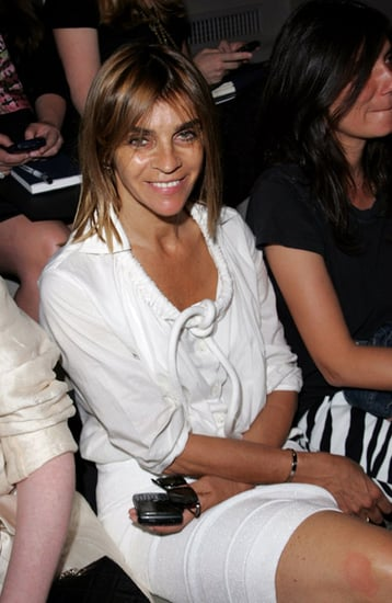 Carine Roitfeld: Missing in Fashion Week Action