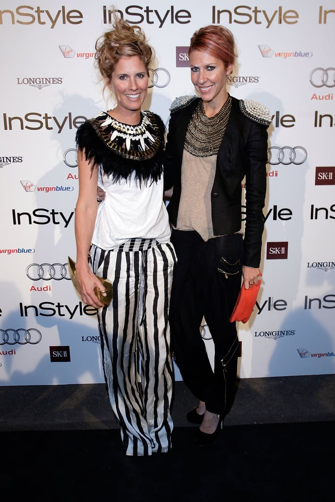 Sarah-Jane Clarke and Heidi Middleton at the 2010 InStyle and Audi Women of Style Awards