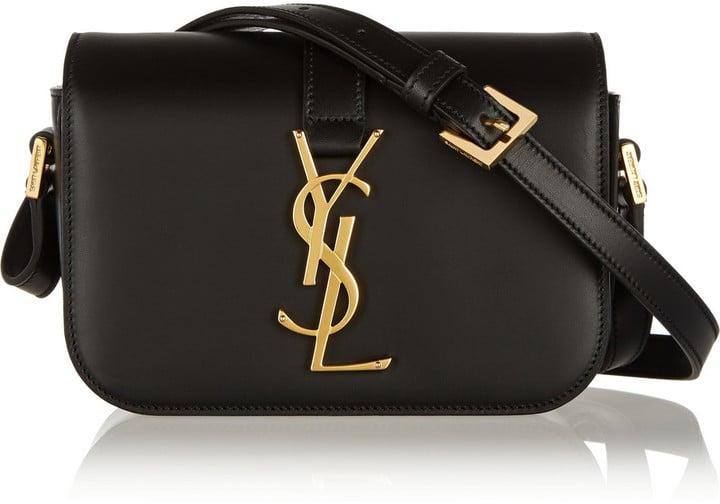Saint Laurent Monogramme Sac Université Small Leather Shoulder Bag ($1,750)