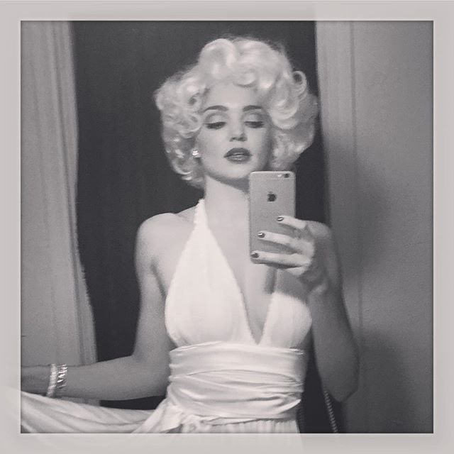 Miranda Kerr as Marilyn Monroe
