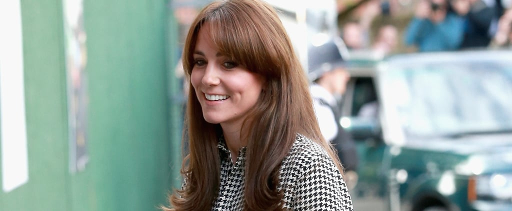 Kate Middleton's New Bangs Will Make You Want to Get a Fringe